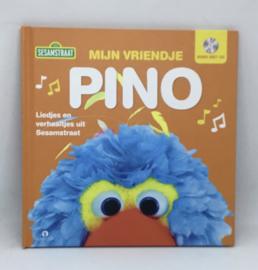 Sesamstraat. liedjes en verhaaltjes Pino,  boek met CD