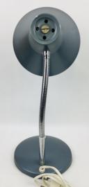 Vintage oil blue design metal gooseneck table desk lamp