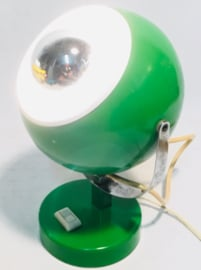 industrial  green bol desk table lamp 1960s