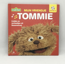 Sesamstraat. liedjes en verhaaltjes Tommy,  boek met CD