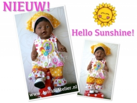 Hello Sunshine setje!