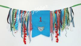 Verjaardags-banner stoer
