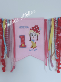 Verjaardags-banner happy