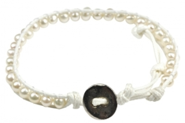 Zoetwater parel armband Witney
