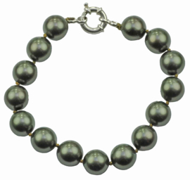 Mother of pearl parel armband Dorali