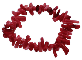 Koralen armband Red Coral Stick