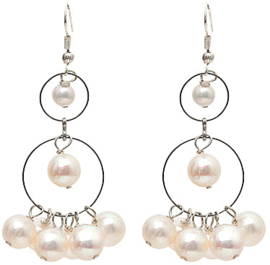 Zoetwater parel oorbellen Long Style Pearl