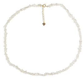 Zoetwater parelketting Mily