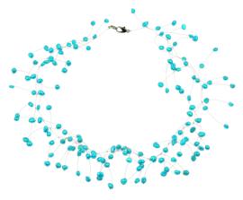 Zoetwater parelketting Sparkling Aqua