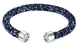 Kristallen armband Stardust Blue