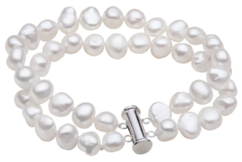 Zoetwater parel armband Frederique W