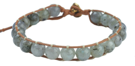 Edelstenen armband Labradorite Antique Gold