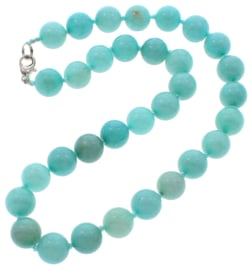 Edelstenen ketting Aquamarine Ball