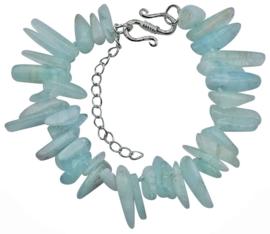 Edelstenen armband Aquar