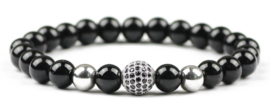 Edelstenen armband Black Diamond
