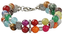 Edelstenen armband Colorfull Gemstones