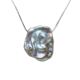 Zoetwater parelketting Gina