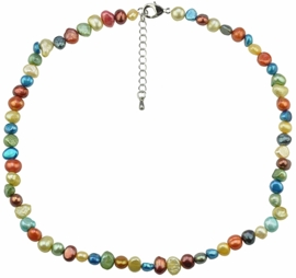 Zoetwater parelketting Rio Small