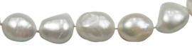 Zoetwater parelketting Big Round Pearl