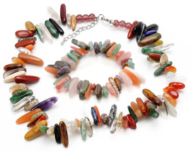 Edelstenen set Gemstone Colorfull Chips