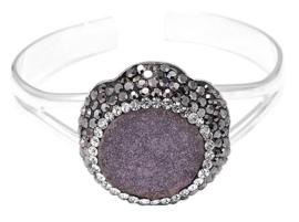 Kristallen armband Bangle Multi Druzy