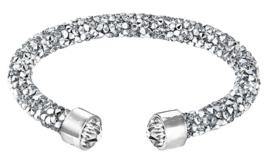 Kristallen armband Stardust Silver