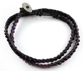Kristallen armband Crystal Purple