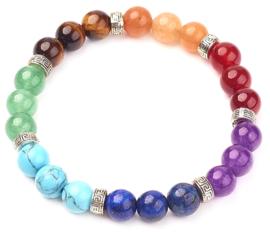 Edelstenen armband Mix Gemstones