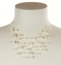 Zoetwater parelketting Gill W