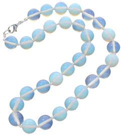 Edelstenen ketting Sea Opal Ball