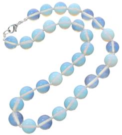 Edelstenen ketting Sea Opal Ball