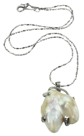 Zoetwater parelketting Shape Pearl