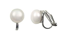 Zoetwater parel clips oorbellen Clip Pearl