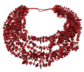 Koralen ketting Big Coral Chip