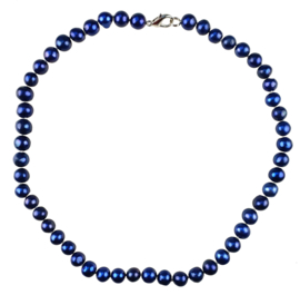 Zoetwater parelketting Pearl Royal Blue
