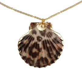 Schelpen ketting Gold Sea Shell Panther