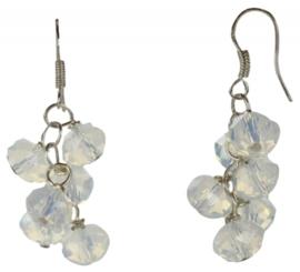 Edelstenen oorbellen Opal