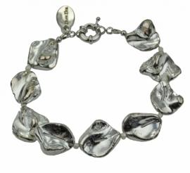 Schelpen armband Shell Silver