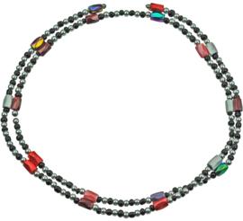 Edelstenen armband Color Black Magnetite Wrap