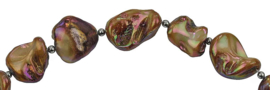 Schelpen ketting Shell AB Brown