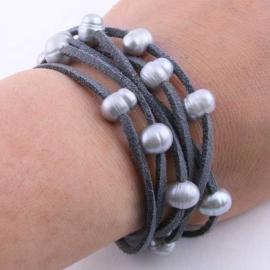 Zoetwater parel armband Suzie