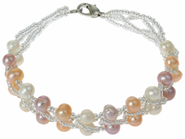 Zoetwater parel armband Annabelle III