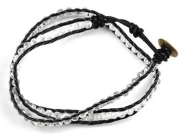 Kristallen armband Crystal White
