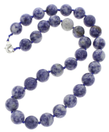 Edelstenen ketting Blue Spot Ball