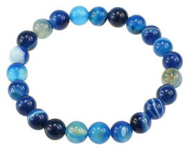 Edelstenen armband Little Blue Lace Agate