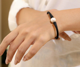 Zoetwater parel armband Blaly
