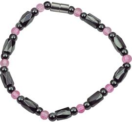 Edelstenen armband Magnetite Rose Crystal