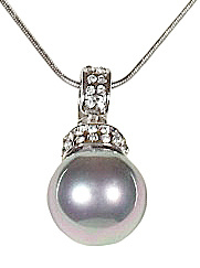 Mother of pearl parel ketting Glanie