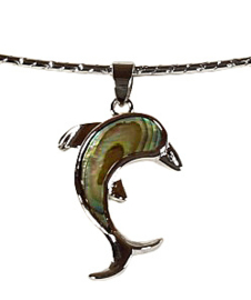 Parelmoeren ketting Abalone Dolphine