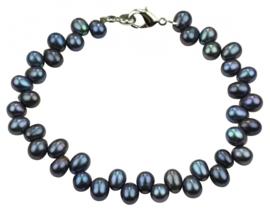 Zoetwater parel armband Blueria